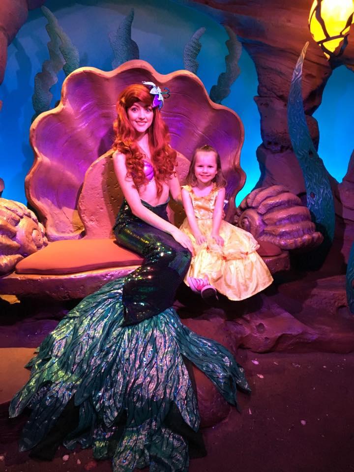 Ariels Grotto - Magic Kingdom Disney World
