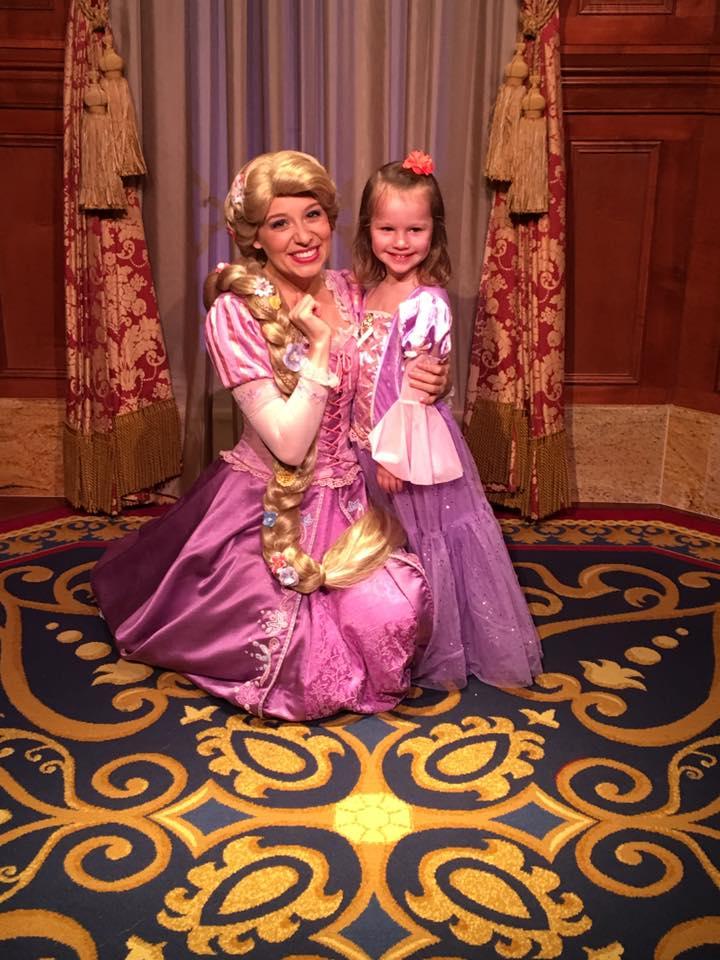 Rapunzel Meet and Greet at Magic Kingdom