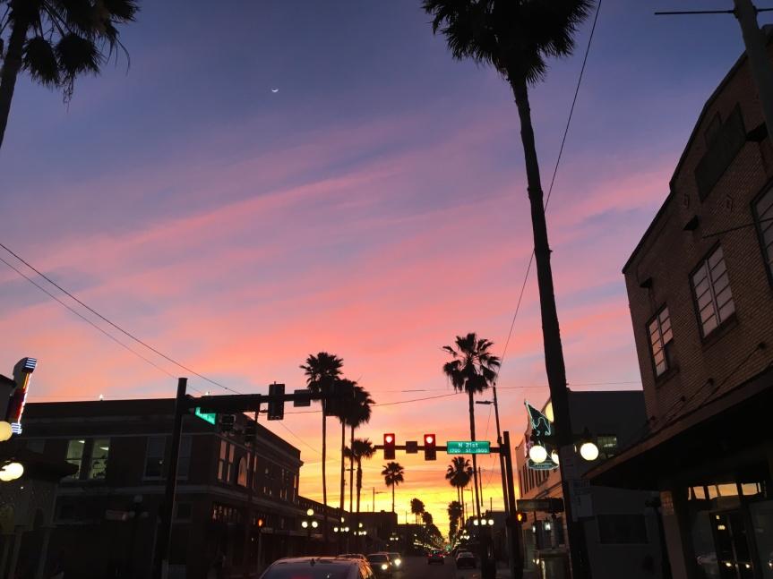 Ybor at dusk