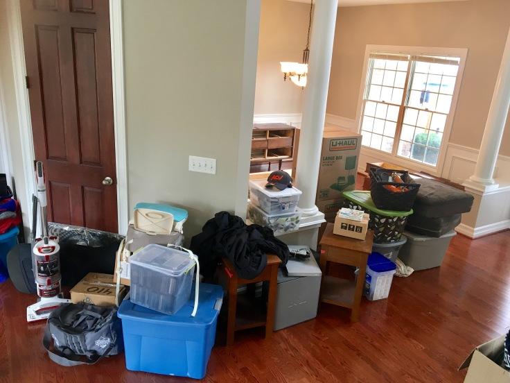 Moving day - Hallway